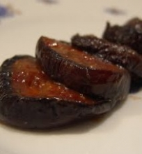 Baklažanai su miso padažu