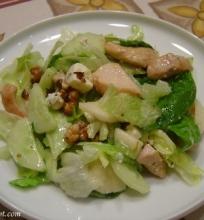Žaliosios vištienos salotos