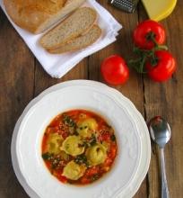 Itališka daržovių sriuba su virtinukais