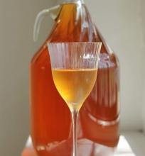 Naminis obuolių vynas