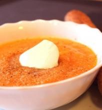 Trinta dažovių sriuba su moliūgu