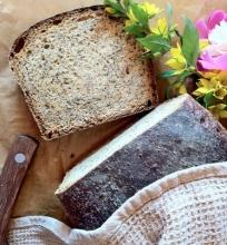 Citrininė medaus duona su aguonomis