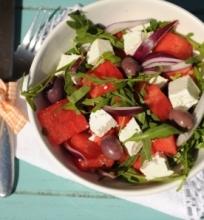 Arbūzų ir fetos salotos
