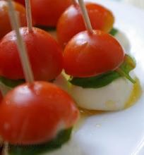 pomidorai su mocarela