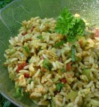 Skaniausios ryžių salotos