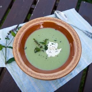 Kreminė pupų sriuba