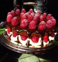 Šokoladinis tortas su Mascarpone