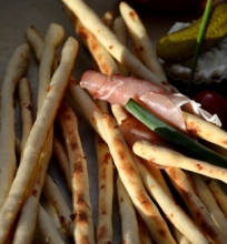 Duonos lazdelės Grissini
