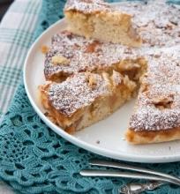 Toskanietiškas obuolių pyragas
