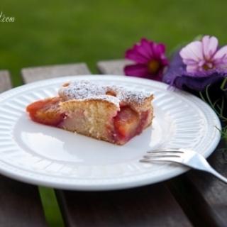 Purus slyvų pyragas