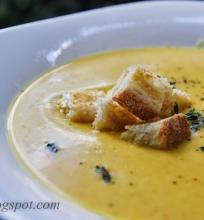 kreminė moliūgo sriuba