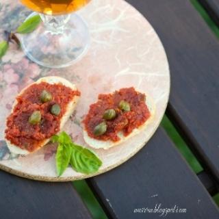 Džiovintų pomidorų užtepas