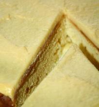 Pyragas su Pieno Milteliais ir Citrininiu Kremu