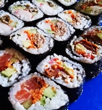 Sušis ir sušio ryžiai.
