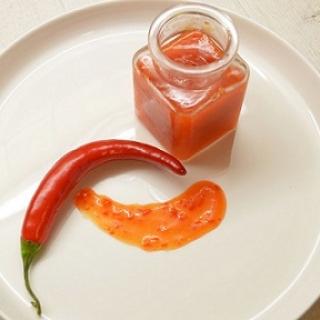 Saldus čili padažas padažas (Chilli sweet)
