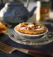 Figų ir rikotos pyragėlis