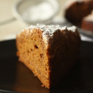 Prieskoninis moliūginis pyragas