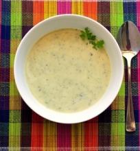 Kreminė cukinijų sriuba