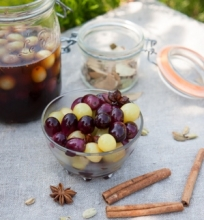 Marinuotos vynuogės