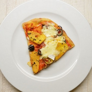 Pica su moliūgais ir Brie sūriu