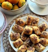 Pyragėliai su vištiena ir morkom