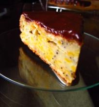 Mpliūgų-obuolių pyragas su aguonomis