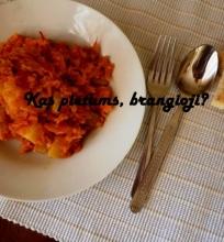 Cukinijų ir pomidorų troškinys pagal Gustavą