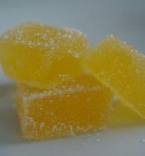 Mandarinų marmeladiniai saldainiai