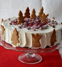 Tortas su spanguolėmis