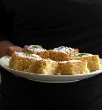 Citrininis pyragas su aguonom