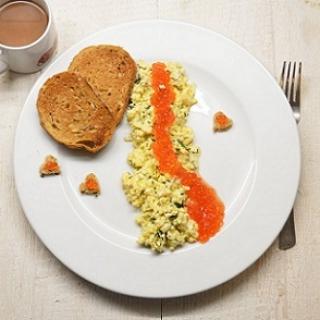 Kiaušinienė su ikrais