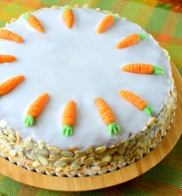 Šveicariškas morkų tortas