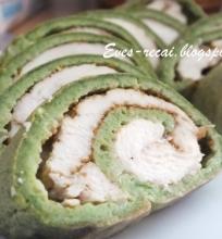 Žalias vištienos vyniotinis