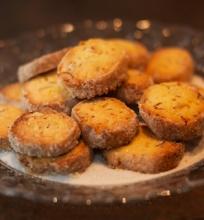 Varnėno Kukurūzo daina (sausainiai su kukurūzų miltais)