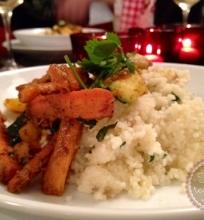 Kuskusas su daržovėmis marokietiškai