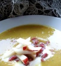 Trinta moliūgų ir obuolių sriuba