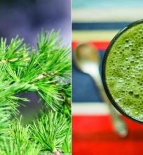Žalias kokteilis su sypgliais (veganiškas, žaliavalgiškas)
