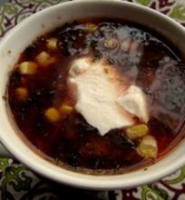Tinginių sriuba su pomidorais
