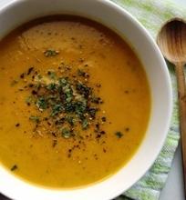 Trinta morkų sriuba su grietinėle