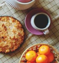 Morkų pyragas (veganiškas, be glitimo)