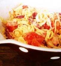 Sūrio ir pomidorų mišrainė