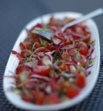 Silke su pomidorais