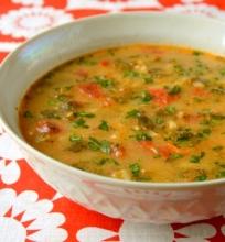 Bulgariška dilgėlių sriuba