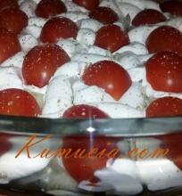 Netradicinė silkutė su pomidorais