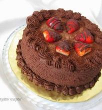"""Tortas """"Šokoladinė avietė"""""""