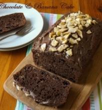 Šokoladinis & Bananinis keksas