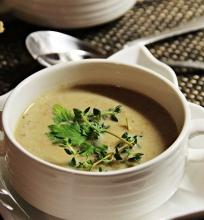 Kreminė voveraičių sriuba