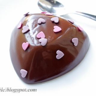 juodojo šokolado drebučiai
