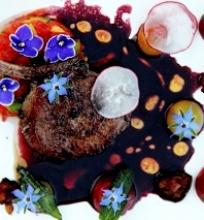 Kiaulienos pjausnys su vyno padažu