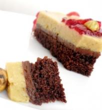 Tortas su pistacijų putėsiais